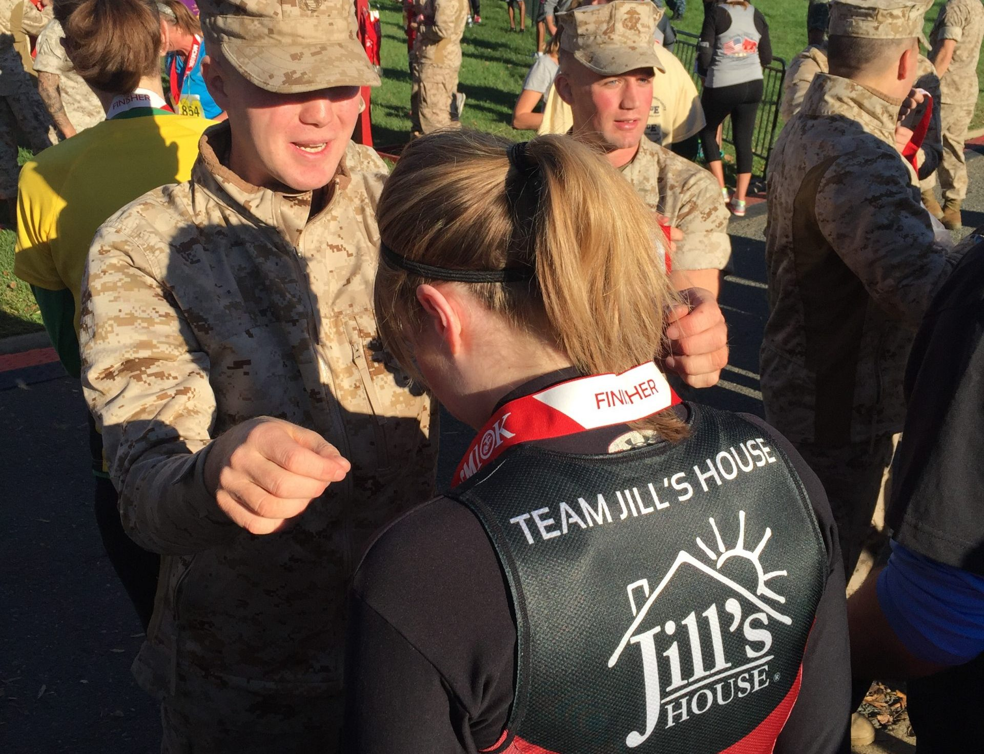 Jill's House Marine Corps Marathon